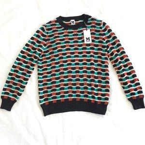 NWT✨Missoni Women's Crochet Wave Knit Sweater 44